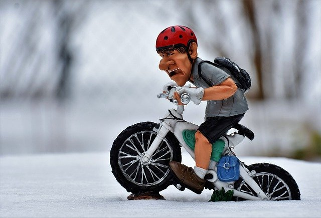 panáček cyklista