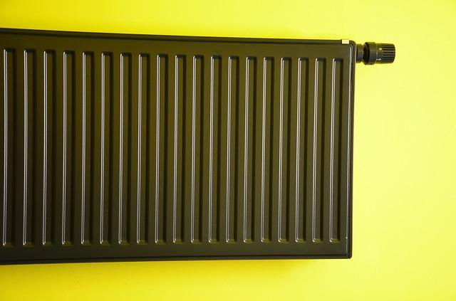 černý radiátor