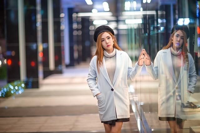 dívka z Asie