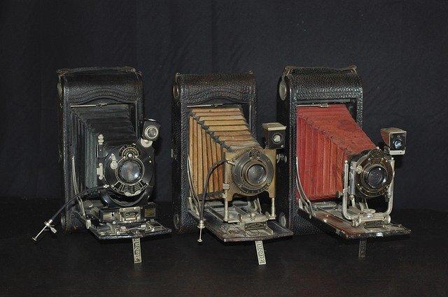 sbírka fotoaparátů