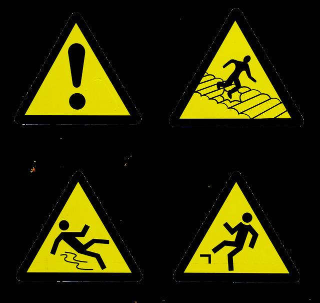 symbol nebezpečí
