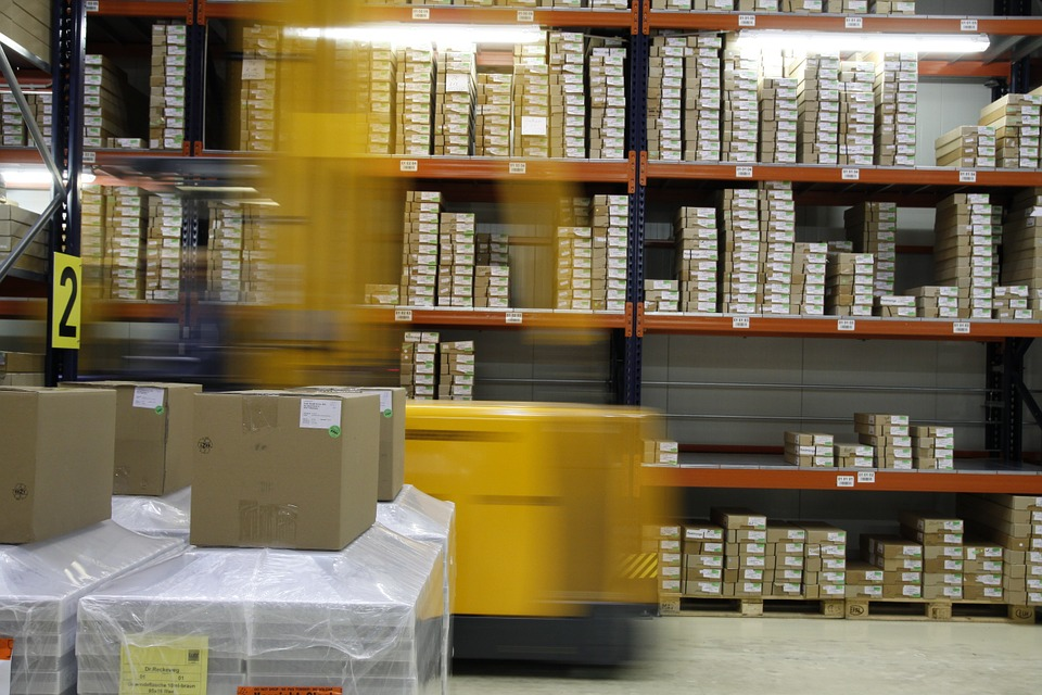 logistika skladu